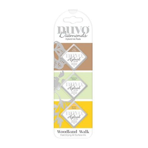 Nuvo Diamond hybrid ink pads - woodland walk 85N (04-19)
