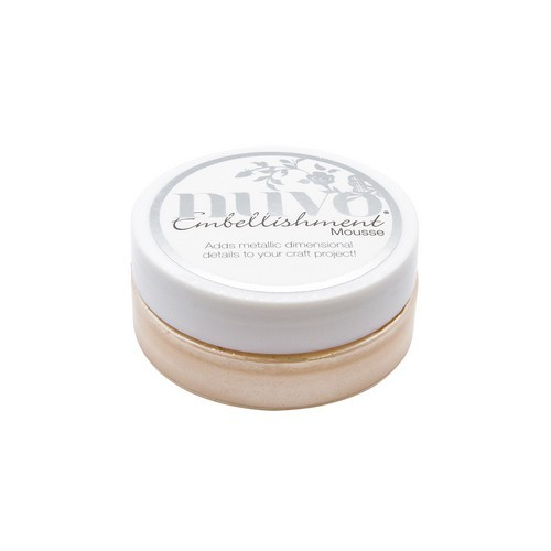 Nuvo Embellishment mousse - chai latte 831N (04-19)
