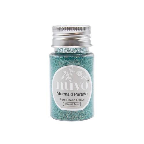 Nuvo Pure sheen glitter - mermaid parade 35ml bottle 1110N (04-19)