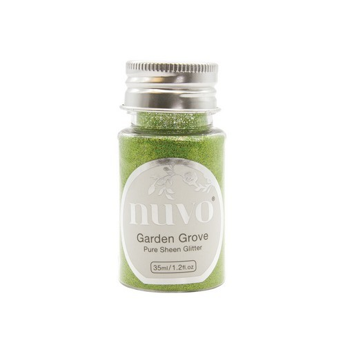 Nuvo Pure sheen glitter - garden grove 35ml bottle 1112N (04-19)