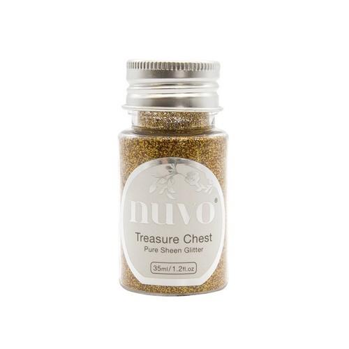 Nuvo Pure sheen glitter - treasure quest 35ml bottle 1113N (04-19)