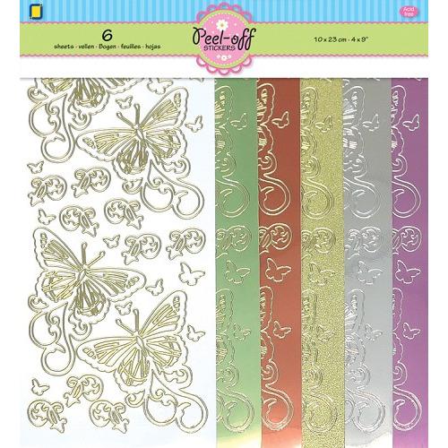 6-Pack Butterflies
