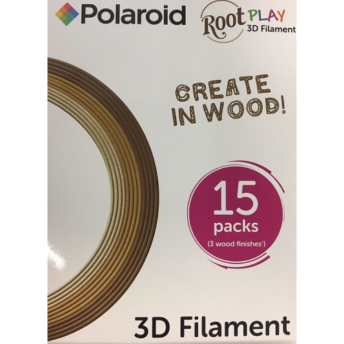 3D Wood Filament (box of 15 reels)