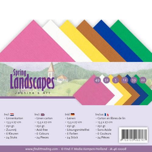 Linnenpakket - 4K- Jeanines Art - Spring Landscapes