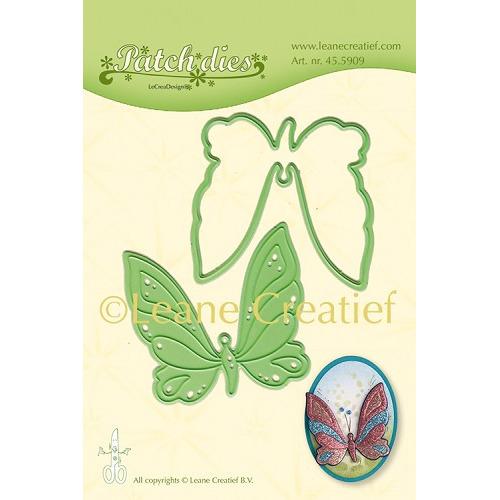 Leabilitie® Patch die Vlinder snij en embossing mal