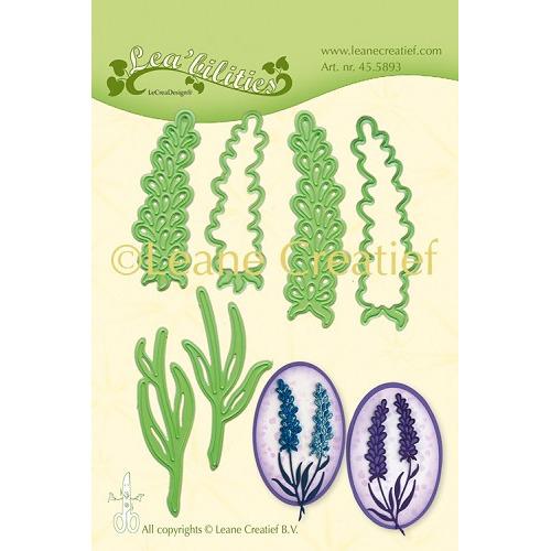 Leabilitie® Lavendel snij en embossing mal