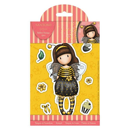 Rubber Stamps - Santoro - Bee-Loved