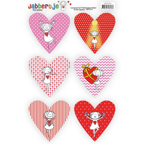 Pushout Topper - René Speelman - Jabbertje - Heart 2