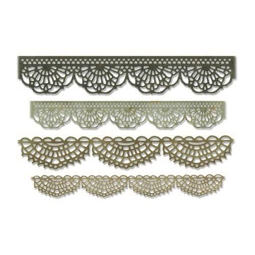 Sizzix Thinlits Die Set - 4PK Crochet 664178 Tim Holtz (04-19)
