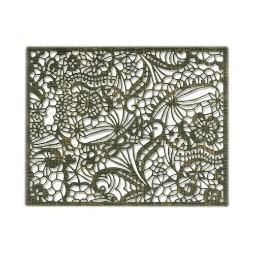 Sizzix Thinlits Die - Intricate Lace 664181 Tim Holtz (04-19)