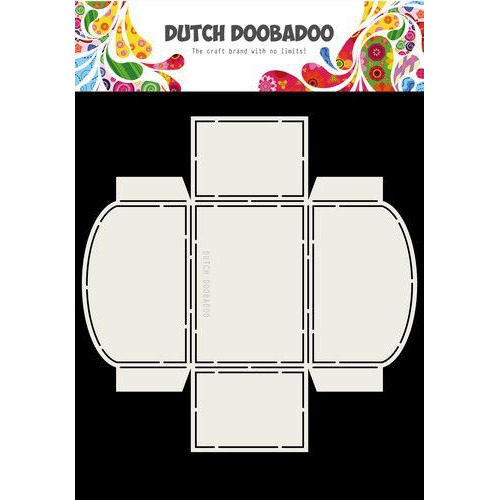 Dutch Doobadoo Dutch Box Art Cookies - koekjes tray A4 470.713.054 (04-19)