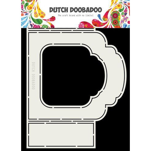 Dutch Doobadoo Dutch Fold Card art  label barok A5 470.713.331 (04-19)