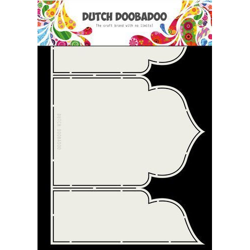 Dutch Doobadoo Dutch Fold Card art Arabesque A4 470.713.333 (04-19)
