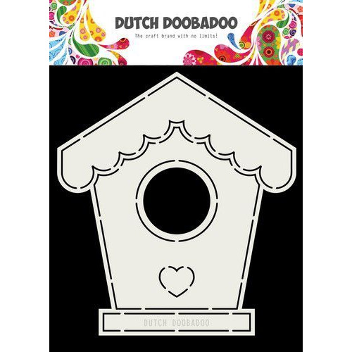 Dutch Doobadoo Card art vogelhuis A5 470.713.710 (04-19)
