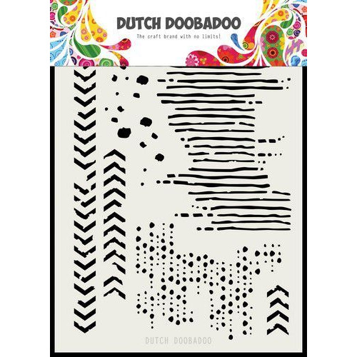 Dutch Doobadoo Dutch Mask Art Grunge mix A5 470.715.136 (04-19)