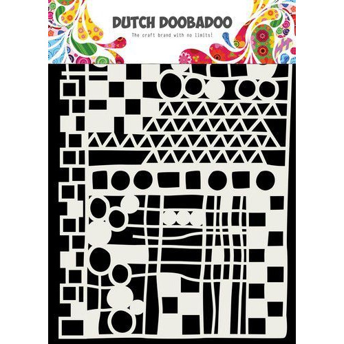 Dutch Doobadoo Dutch Mask Art  Geo Mix - abstract A5 470.715.137 (04-19)