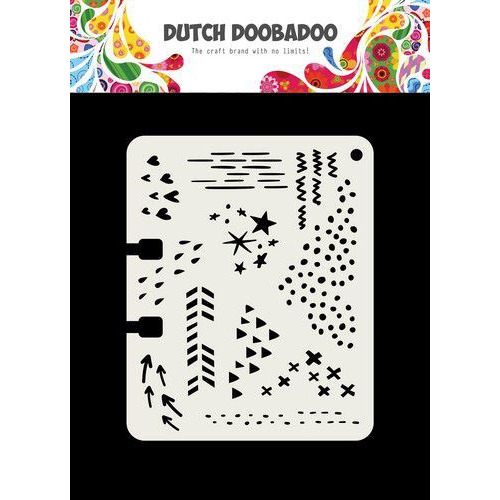 Dutch Doobadoo Dutch Mask Art Rollerdex Doodle Mix 102x82mm 470.715.901 (04-19)
