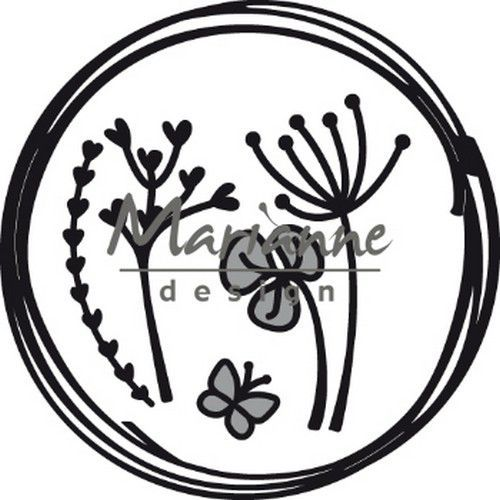 Marianne D Craftable Doodle cirkel CR146885.5x85.5 mm  (05-19)