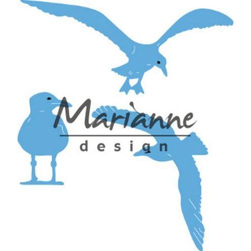 Marianne D Creatable Tiny`s zeemeeuwen LR059550.5x21, 75x50, 40.5x28 mm  (05-19)