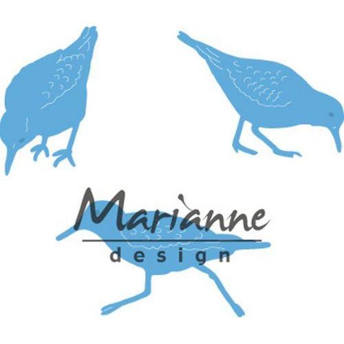 Marianne D Creatable Tiny's sand pipers LR059620.5x31.5, 35.5x27, 45.5x24.5 mm  (05-19)