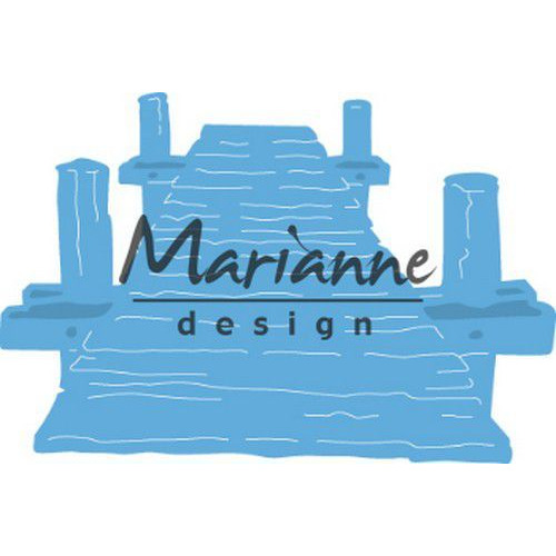 Marianne D Creatable Tiny`s strandsteiger LR05971 pc, 75x50 mm  (05-19)
