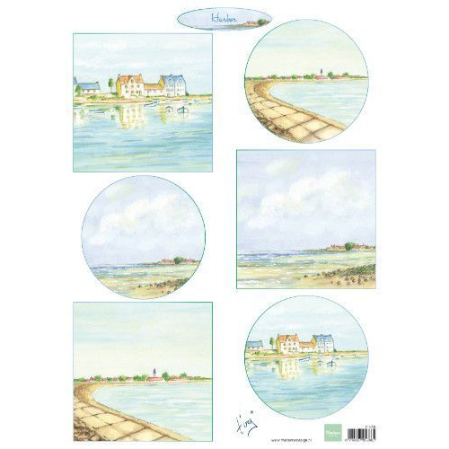 Marianne D Decoupage Tiny`s havens IT610A4  (05-19)