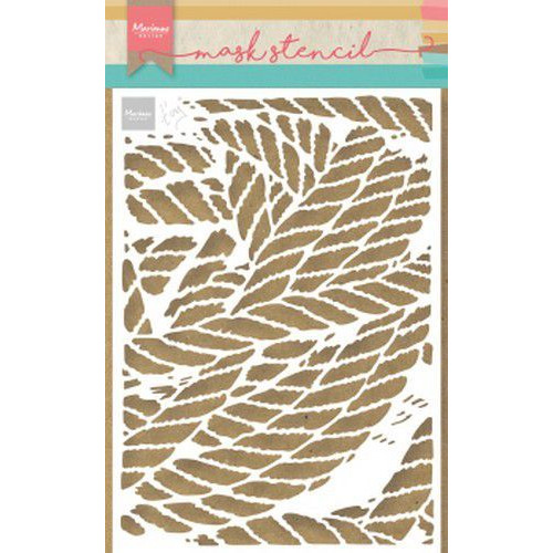 Marianne D Stencil Tiny's touwen PS8031 149x149 mm  (05-19)