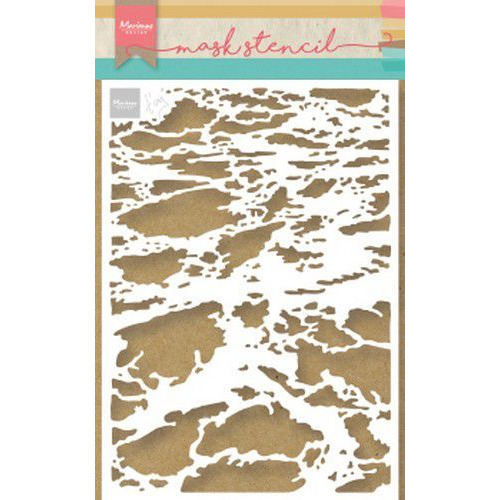Marianne D Stencil Tiny's oceaan PS8032 149x149 mm  (05-19)