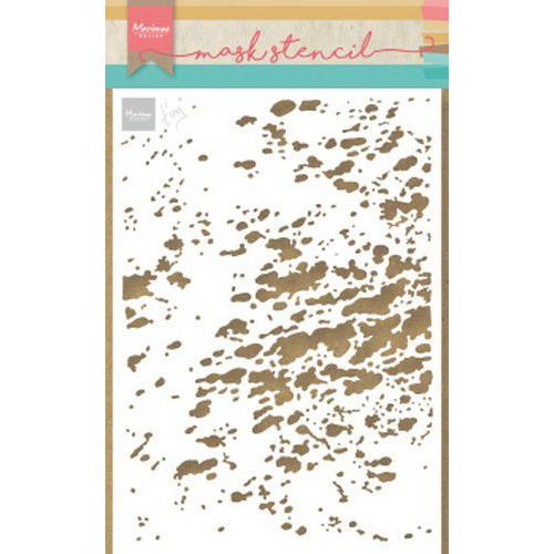 Marianne D Stencil Tiny's plons-splash PS8033 149x149 mm  (05-19)