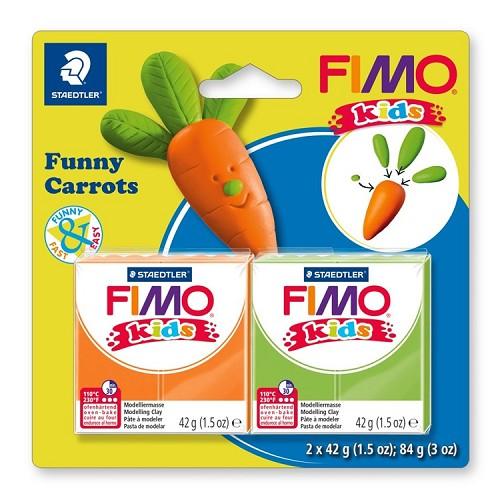 """Fimo kids funny kits set """"funny carrots"""""""
