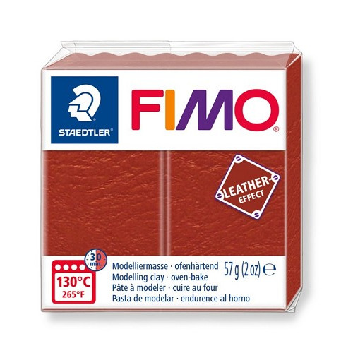 Fimo leather-effect 57 g roest
