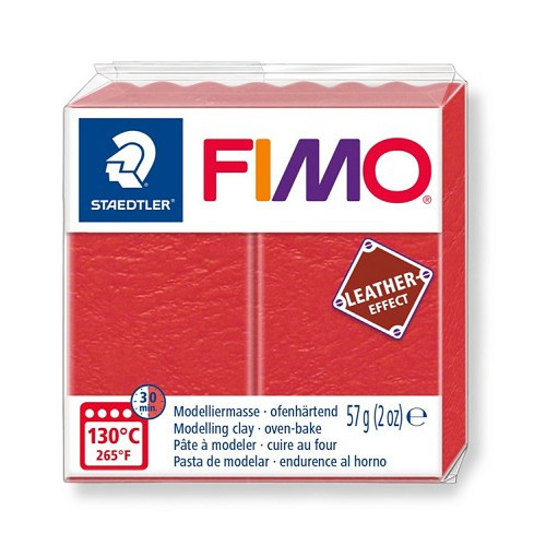 Fimo leather-effect 57 g watermeloen