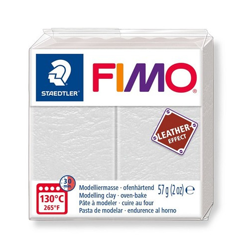 Fimo leather-effect 57 g ivoor