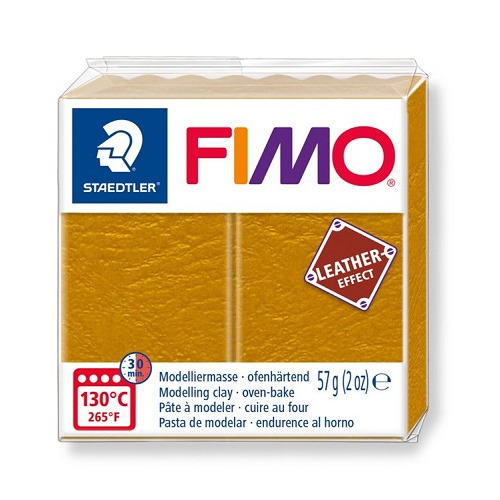 Fimo leather-effect 57 g oker