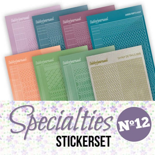 Specialties 12 Stickerset