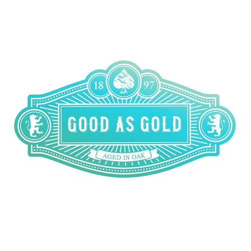 Mini Stamp - Gentleman`s Emporium - Good as Gold Sentiment (1pc)