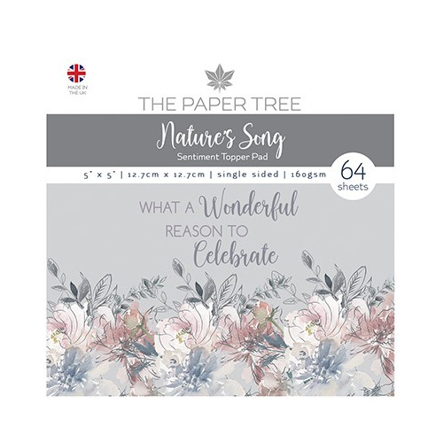 The Paper Tree Nature`s Song Sentiments Pad