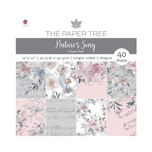 The Paper Tree Nature`s Song Paper Pad