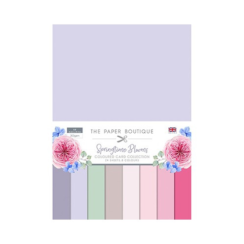The Paper Boutique Springtime Blooms Colour Card Collection
