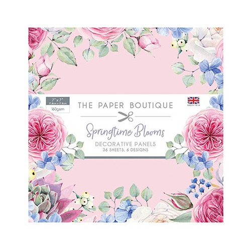 The Paper Boutique Springtime Blooms Panel Pad