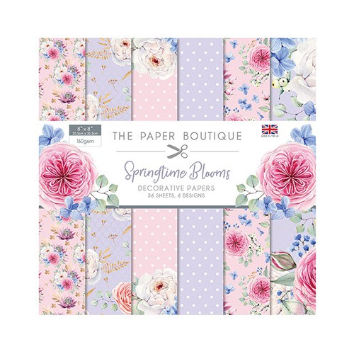 The Paper Boutique Springtime Blooms Paper Pad