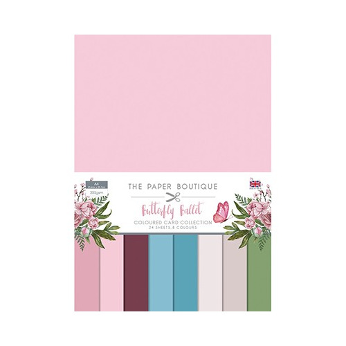 The Paper Boutique Butterfly Ballet Colour Card Collection