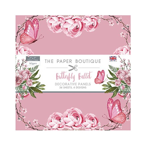 The Paper Boutique Butterfly Ballet Panel Pad