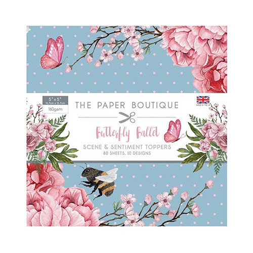 The Paper Boutique Butterfly Ballet Sentiments Pad
