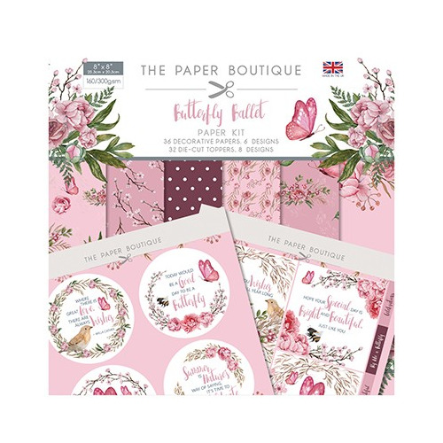 The Paper Boutique Butterfly Ballet Paper Kit
