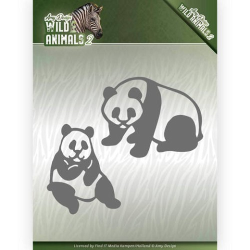 Dies - Amy Design - Wild Animals 2 - Panda Bear
