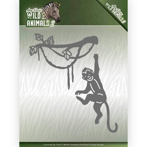 Dies - Amy Design - Wild Animals 2 - Spider Monkey