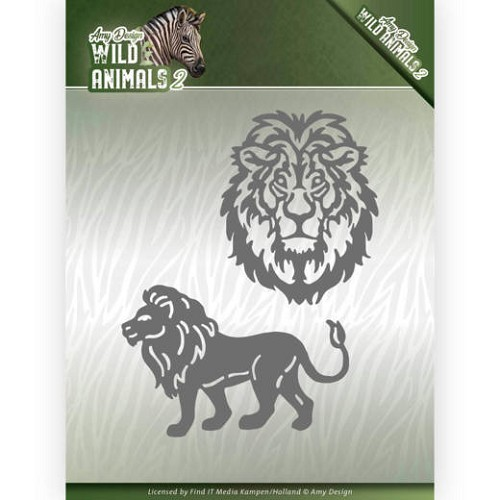 Dies - Amy Design - Wild Animals 2 - Lion
