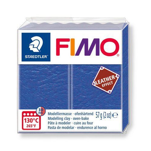 Fimo Effect leather 57 g indigo 8010-309 (04-19)