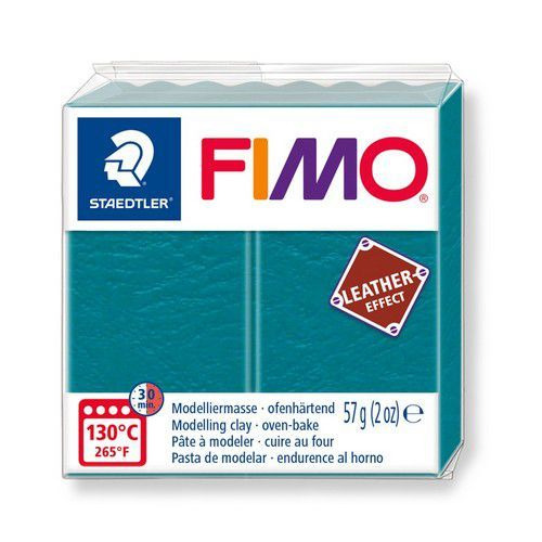 Fimo Effect leather 57 g lagune 8010-369 (04-19)